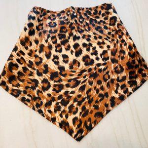 Leopard Pull-Up Handkerchief Mask