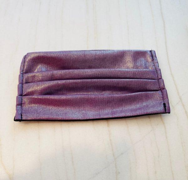 Purple Shimmer Face Mask