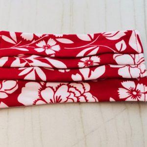Red & White Peony